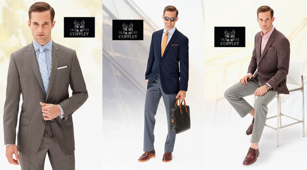 Coppley custom suits are in fort wayne at cjm for Custom t shirts fort wayne