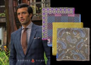 Robert Talbott Spring 2014 Pocket Squares