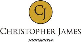 Christopher James Menswear Logo