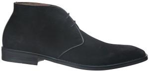 BISHOP-23 BLACK (SUEDE) $240