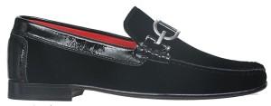 DACIO-U05 BLACK (VELVET PATENT) $320