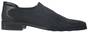 REX-LF BLACK (STRETCH SUEDE) $295