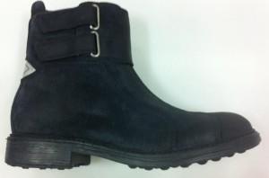 SHIRA2-81DG BLACK (VINTAGE SUEDE) $275