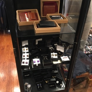 trask cufflinks and wallets