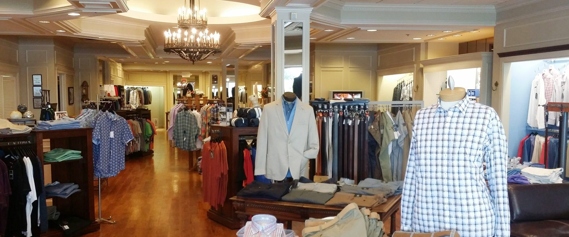 Home FeaturedC: Christopher James Menswear Store